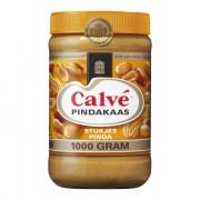 Calve Pindakaas met stukjes pinda XL 1000 Gram