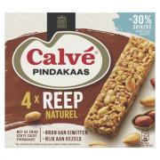 Calve Pindakaasreep naturel 4x35 gram
