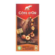 Cote d'or Tablet puur hazelnoten 200 gram