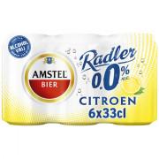 Amstel Radler citroen 0.0% blik 6 x 33 CL