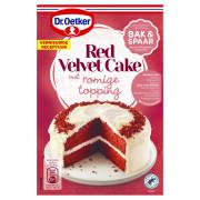 Dr. Oetker Mix voor Red velvet cake 293 gram