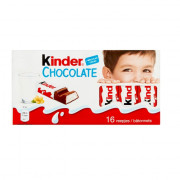 Kinder Chocolade reepjes 16 stuks