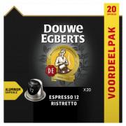 Douwe Egberts Espresso ristretto koffiecups 20 stuks