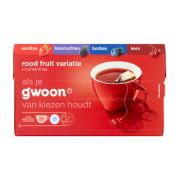 G'woon Rood fruit variatie Thee 40gr