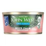 John West Wilde roze zalm graatloos 170 gram