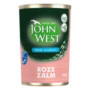 John West  Wilde roze zalm 418 gram
