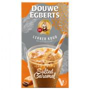 Douwe Egberts Latte Salted Caramel oplos ijskoffie 8 stuks