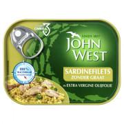 John West Sardinefilets extra vergine olijfolie 95 gram blikje