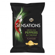 Lays Sensations Mexican Peppers & Cream 150 gram