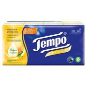 Tempo Plus soft & sensitive 4-laags zakdoeken 8 x 9 stuks