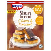 Dr. Oetker Mix voor Shortbread karamel & chocolade 280 gram