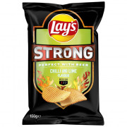Lays Strong Chilli & Lime 150 gram