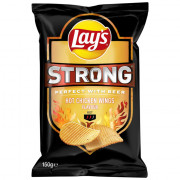 Lays Strong Hot Chicken Wings 150 gram
