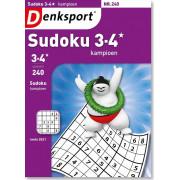 Denksport 3-4* Sudoku kampioen