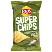 Lays Superchips Peper en Zout 200 gram