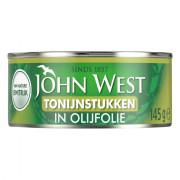 John West Tonijnstukken in olijfolie 145 gram