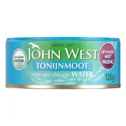 John West Tonijnmoot met een vleugje water 120 gram
