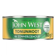 John West Tonijnmoot in zonnebloemolie 160 gram