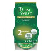 John West Tonijnstukken in olijfolie 2 x 60 gram