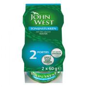 John West Tonijnstukken in water 2 x 60 gram