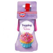 Dr. Oetker Topping roze voor cupcake versiering 140 gram