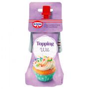 Dr. Oetker Topping wit voor cupcake versiering 140 gram
