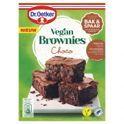 Dr. Oetker Mix voor Vegan brownies 360 gram