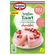 Dr. Oetker Mix voor Vegan taart aardbei 460 gram