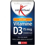 lucovitaal Vitamine D3 forte 75 mcg One a Day 70 stuks