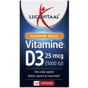 lucovitaal Vitamine d3 25 mcg capsules 120 stuks