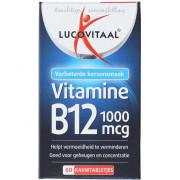 lucovitaal Vitamine B12 1000 mcg kauwtabletjes 60 stuks