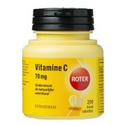Roter Vitamine C 70 mg kauwtabletten citroen 200 stuks
