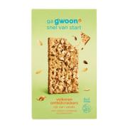 G'woon Ontbijtcrackers volkoren tarwe 6 x 3 stuks 315 gram