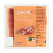G'woon Worstenbrood 4 x 70 gram