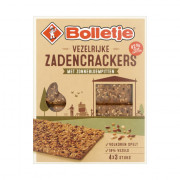 Bolletje Vezelrijk zadencrackers zonnebloempitten 265 gram