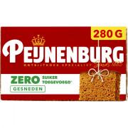 Peijnenburg Ontbijtkoek naturel zero gesneden 280 gram
