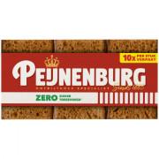 Peijnenburg Ontbijtkoek naturel  zero portieverpakking 10 stuks
