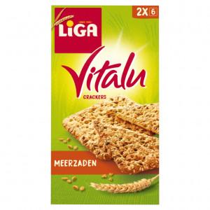 Vitalu crackers meerzaden 200 gram