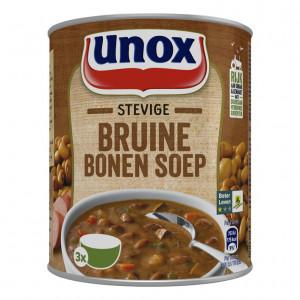 Blik stevige Bruine bonensoep 800 ml