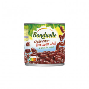 Chilibonen in pittige saus 400 gram