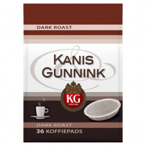 Dark roast koffiepads 36 stuks