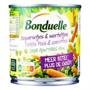 Doperwtjes & worteltjes zeer fijn 150 gram
