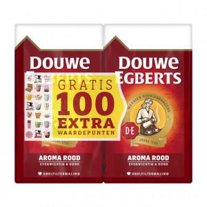 Aroma rood dubbelpak snelfilter 2 x 500 gram