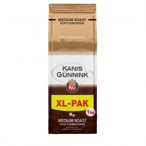 Medium roast koffiebonen voordeelpak 1kg