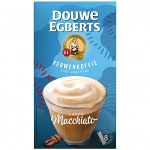 Verwenkoffie latte macchiato oploskoffie 8 stuks