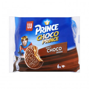 Prince Choco chocolade 6 koeken