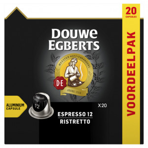 Espresso ristretto koffiecups 20 stuks
