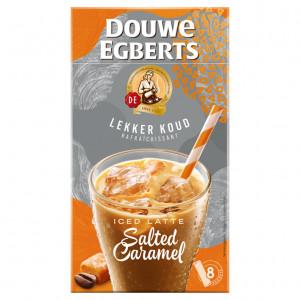 Latte Salted Caramel oplos ijskoffie 8 stuks