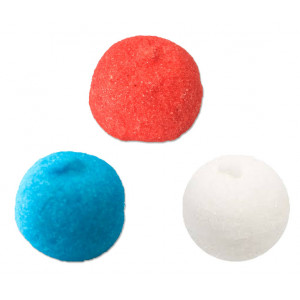 Spekbollen Rood - Wit - Blauw Puntzak 250 gram