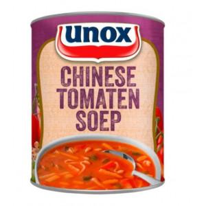Blik stevige Chinese tomatensoep 800 ml